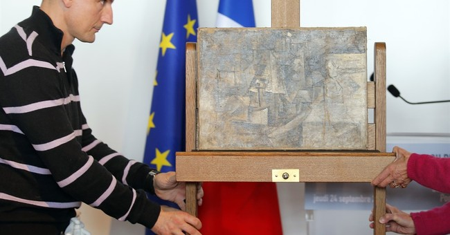 Picasso painting found in New Jersey back in Paris museum