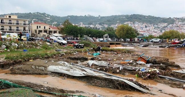 Storm disaster declared on Greek 'Mamma Mia!' island