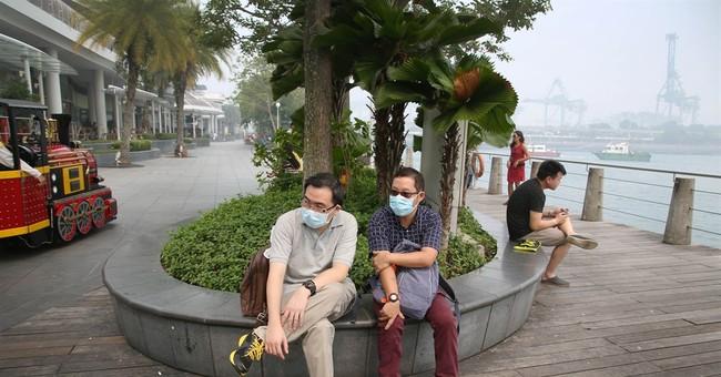 Singapore shuts schools, distributes free masks for haze