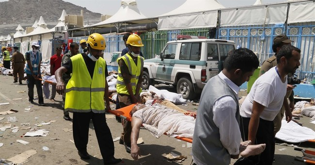 A look at major hajj-related accidents in Saudi Arabia