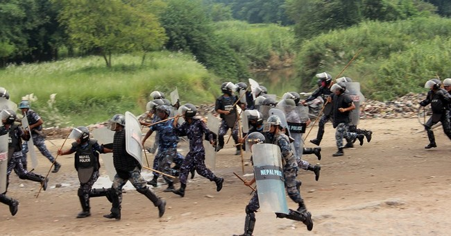 Protests in Nepal choke essential supplies from India