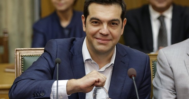Tsipras pledges to lead Greece out of crisis by 2019