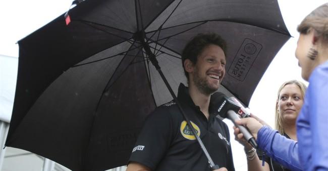 Haas F1 names Frenchman Romain Grosjean 1st driver
