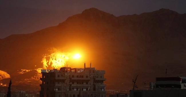 Saudi airstrikes, fighting in Yemeni city kill 13 people