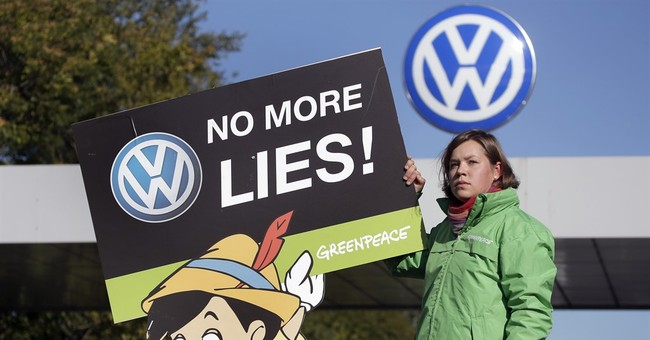 The Latest: Switzerland to ban sales of some VW group cars