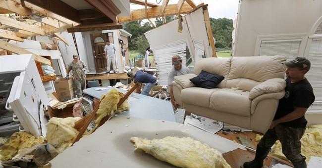 Tornado heavily damages 10 homes in South Carolina