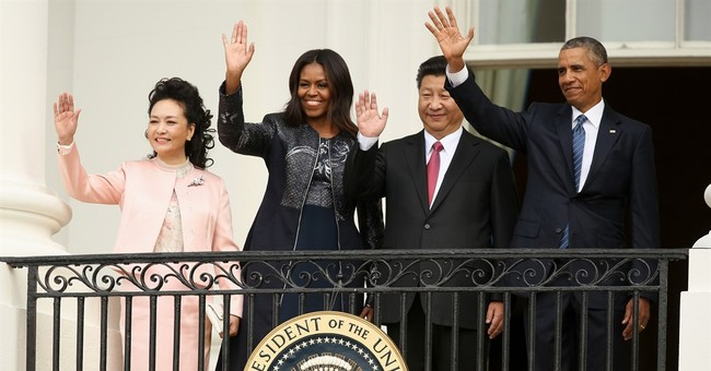 State dinner: All about big business, and bringing Mom