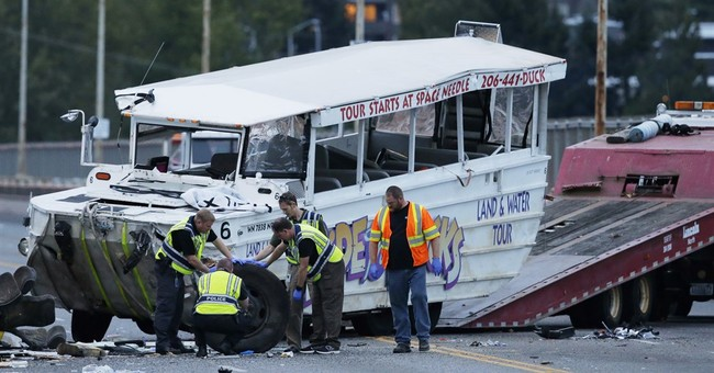 NTSB: Duck boat in Seattle crash didn't have recommended fix