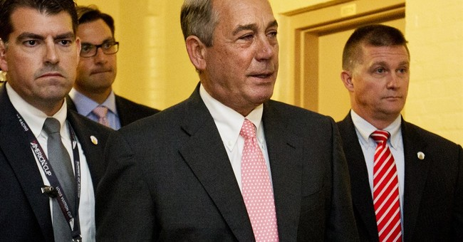 Speaker Boehner resigns from Congress, victory for tea party