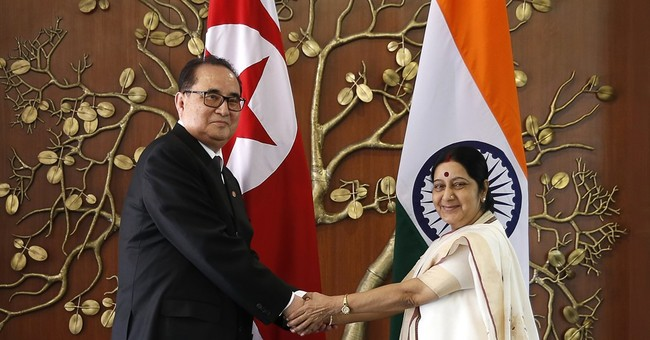 Odd partnership: Ties warm between India and North Korea