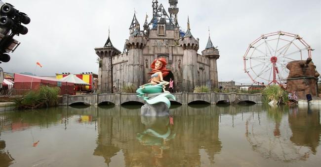 Banksy theme park brings $30M boost to depressed UK town