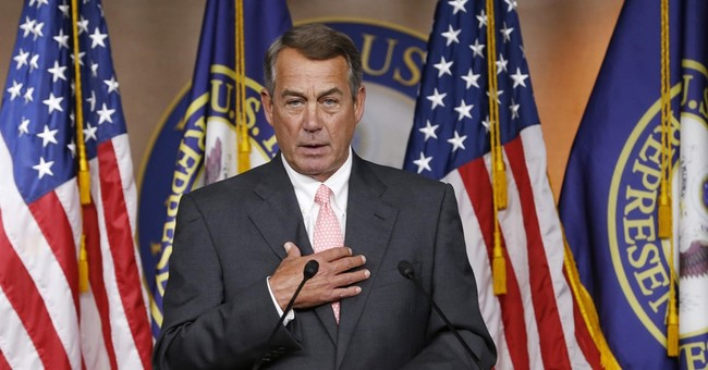 Boehner: No government shutdown