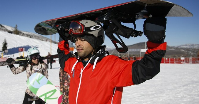 Adrian Grenier enjoys anonymity on empty slopes at Sundance