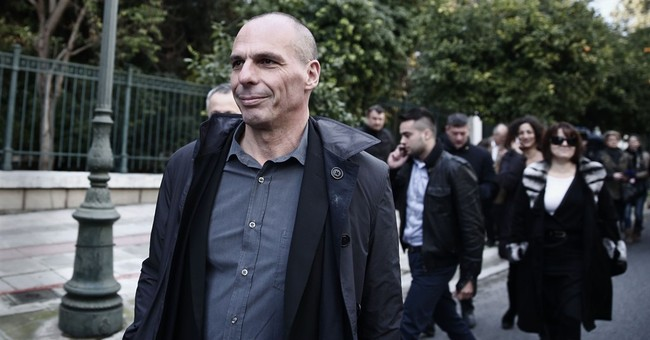 Amid pressure, bailout critic is new Greek finance minister