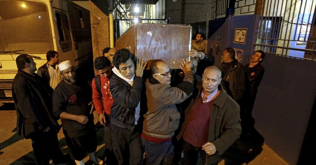 Egyptian police criticized over death of female protester