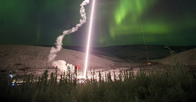 4 rockets launched into northern lights to study turbulence