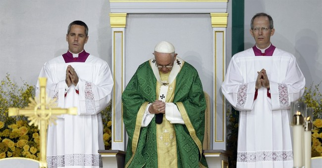 The Latest: With Pope Francis heading home, crowds do too
