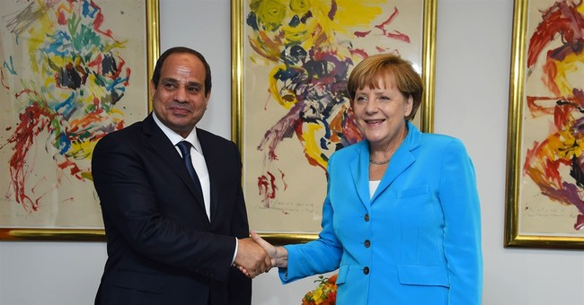AP Interview: Egypt's leader says country in 'ferocious war'