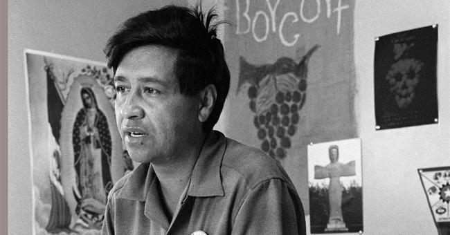 Hundreds mark anniversary of farmworkers' labor movement