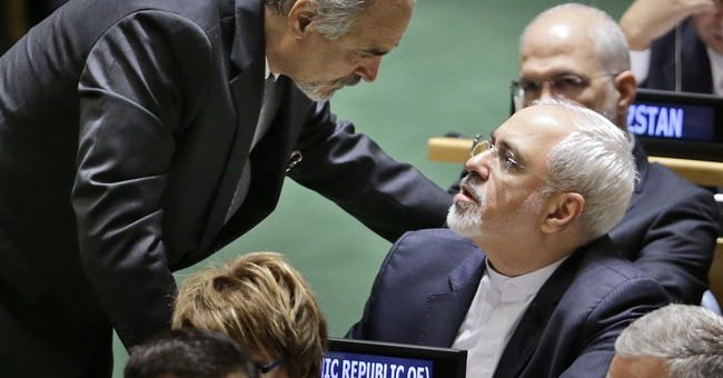 Obama, Iran foreign minister shook hands at luncheon