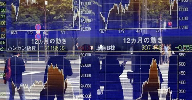 Asian stocks down ahead of China, US data