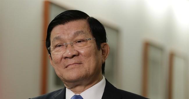 Vietnam leader: China island work violates international law