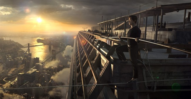 Clarification: Film-The Walk story