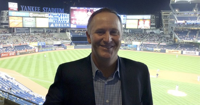 Prime ministers from New Zealand, Curacao at Red Sox-Yankees