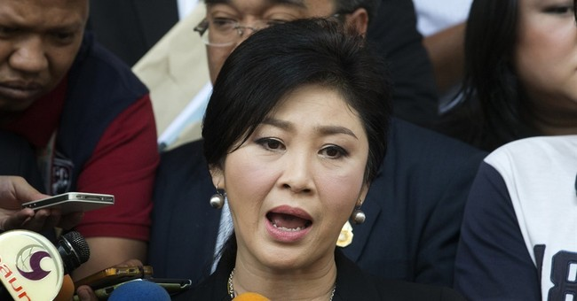 Thailand's ousted PM files criminal case against opponents