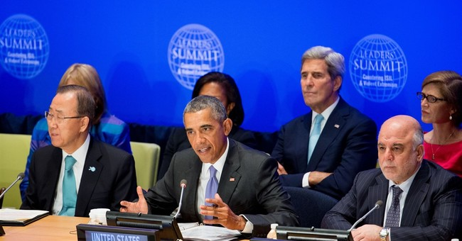 Obama says fight against Islamic State group will take time