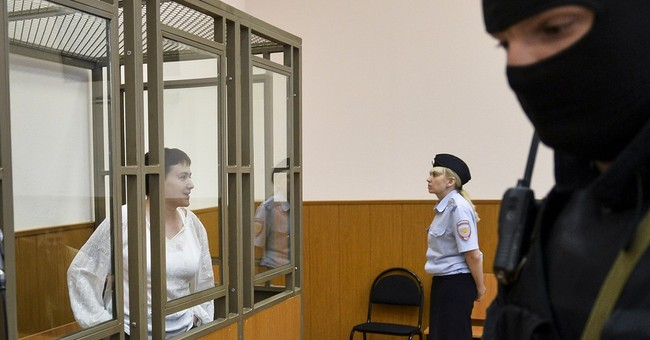 Ukrainian officer on trial in Russia says she was kidnapped