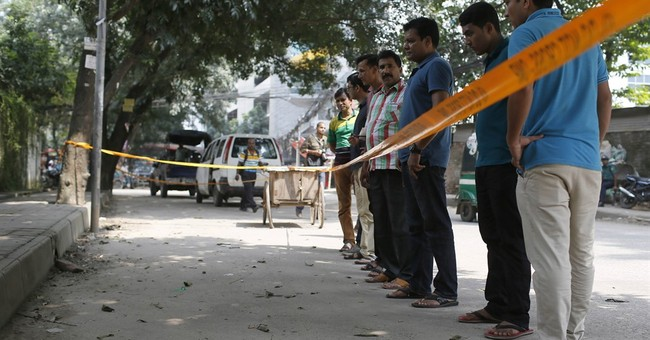 Islamic State group says it guns down Italian in Bangladesh
