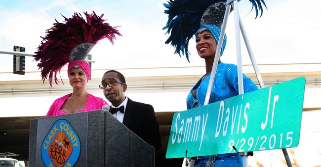 Road off Las Vegas Strip renamed Sammy Davis Jr. Drive