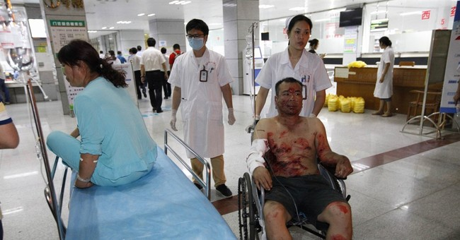 Another blast hits Chinese city where explosions killed 7
