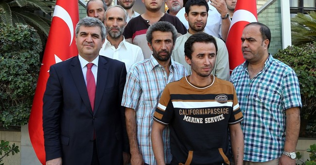 16 Turkish workers kidnapped in Iraq are released