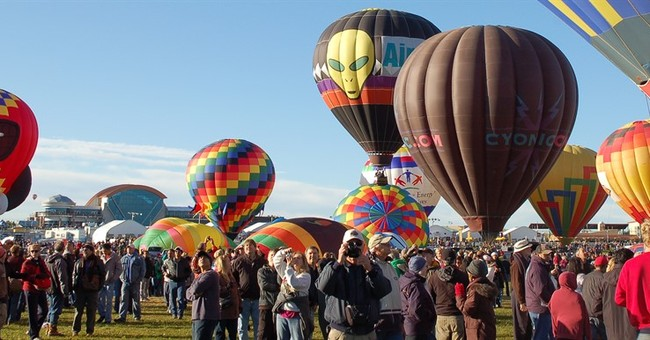 New Mexico readies for annual international balloon fiesta