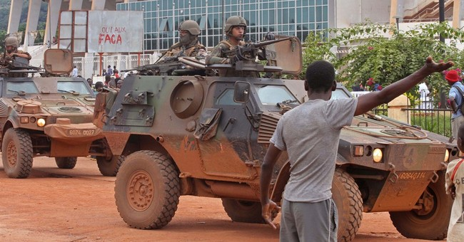 Red Cross: Wounded trapped in C. African Republic capital