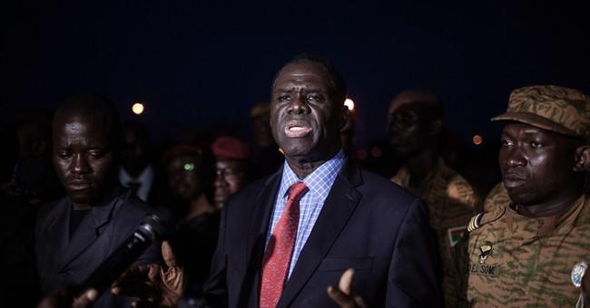 Burkina Faso coup leader in Vatican Embassy