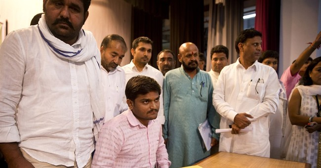 Firebrand farm leader Patel vows to fight for India's poor