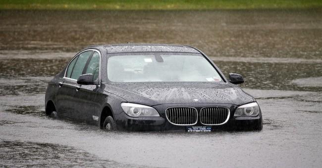 The Latest on rainstorm: 1 dies in South Carolina flooding