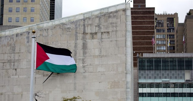 President Abbas raises Palestinian flag for first time at UN