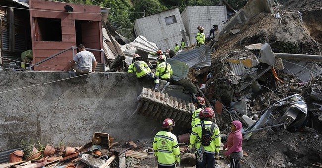 At least 26 dead in Guatemala mudslide, many missing