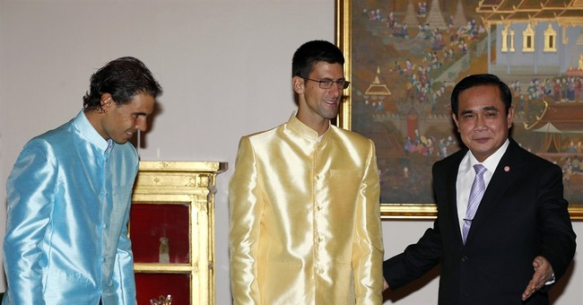 Djokovic and Nadal mix tennis with politics on Thailand trip