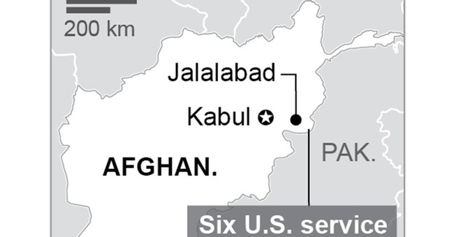 6 US airmen among at least 11 dead in Afghan plane crash