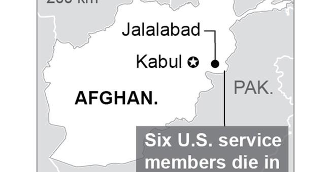 6 US service members among 11 dead in Afghan plane crash