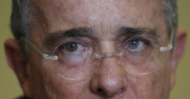 AP Interview: Uribe challenges Colombia's peace breakthrough