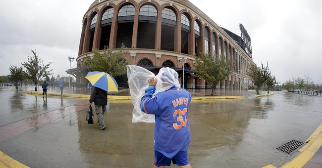 3 MLB games postponed as Atlantic faces rain and wind