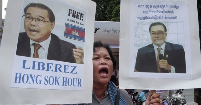 Cambodian opposition senator on trial over Facebook comments