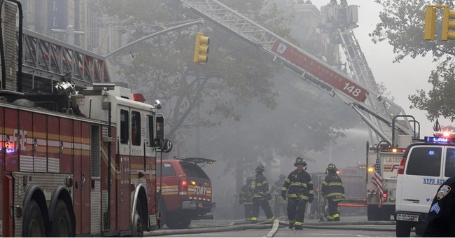 New York City explosion kills 1, hurts 3; gas leak suspected