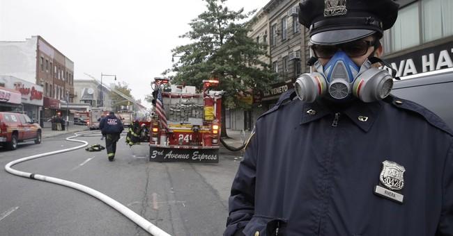 New York City explosion kills 1, hurts 3; gas leak suspected